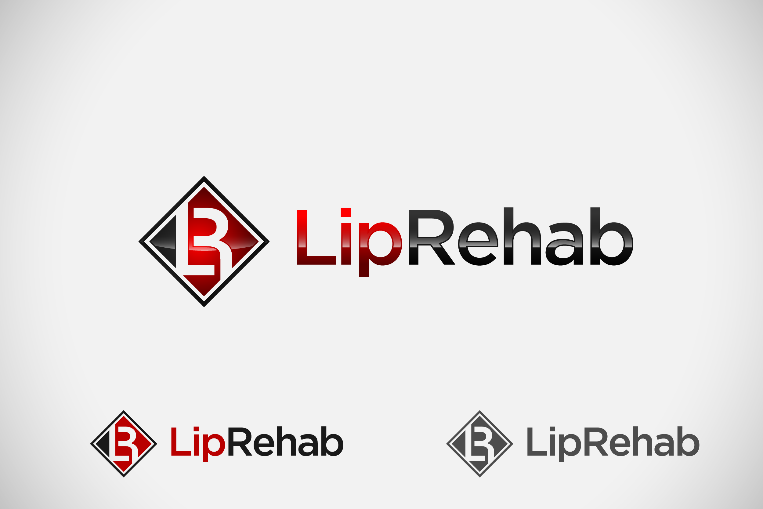 Logo Design by Private User - Entry No. 107 in the Logo Design Contest Creative Logo Design for Lip Rehab.