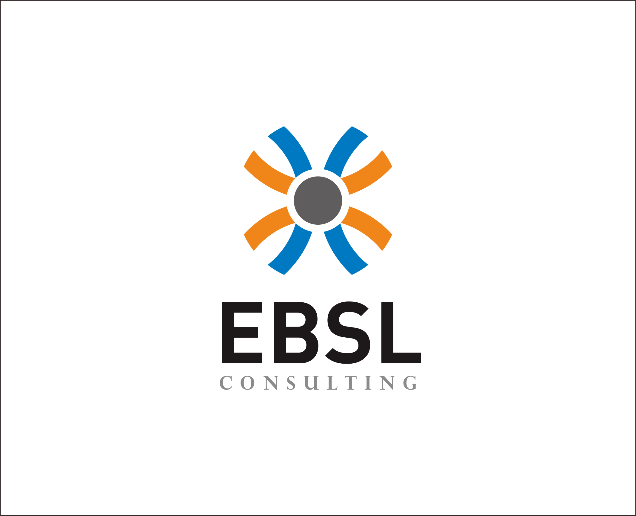 Logo Design by Armada Jamaluddin - Entry No. 18 in the Logo Design Contest EBSL Consulting Logo Design.