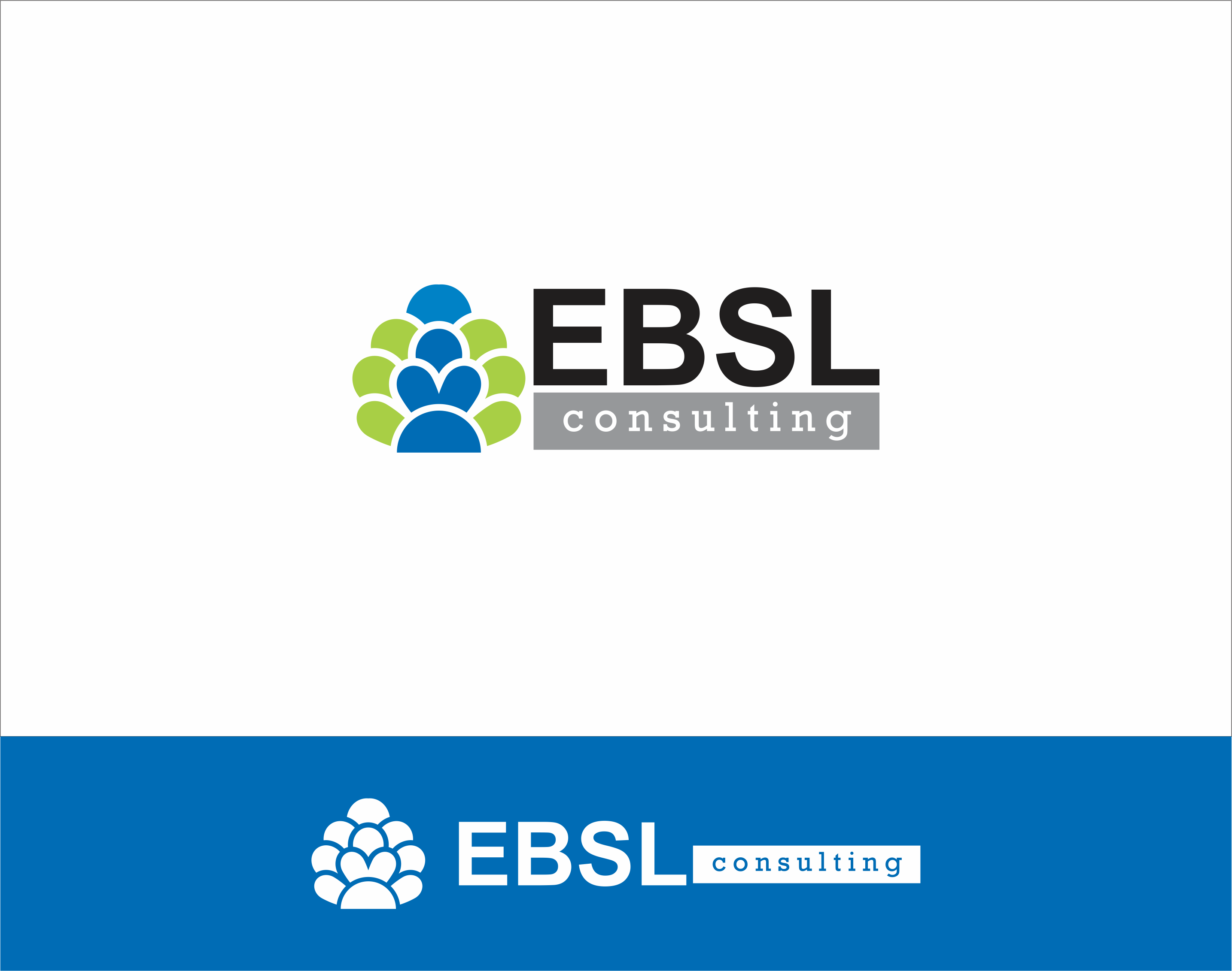 Logo Design by Armada Jamaluddin - Entry No. 19 in the Logo Design Contest EBSL Consulting Logo Design.