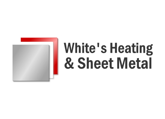 Logo Design by Ismail Adhi Wibowo - Entry No. 1 in the Logo Design Contest Imaginative Logo Design for White's Heating and Sheet Metal.