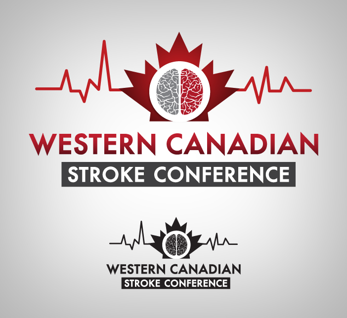 Logo Design by nausigeo - Entry No. 9 in the Logo Design Contest Artistic Logo Design for Western Canadian Stroke Conference.
