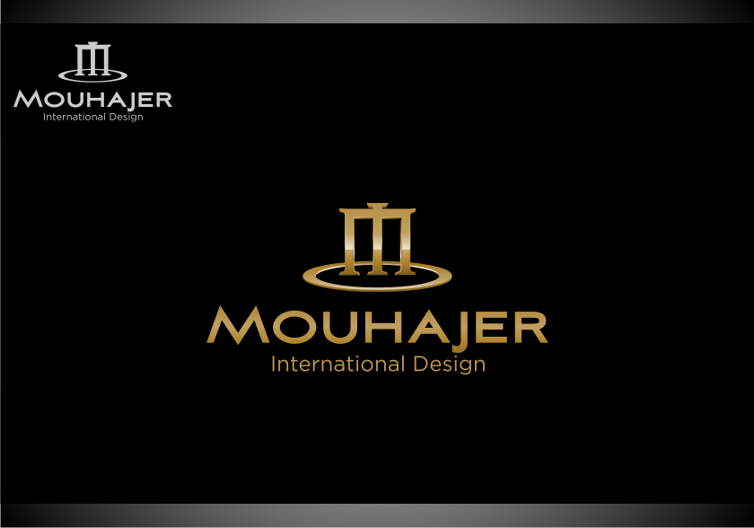 Logo Design by Muhammad Nasrul chasib - Entry No. 29 in the Logo Design Contest Unique Logo Design Wanted for Mouhajer International Design.