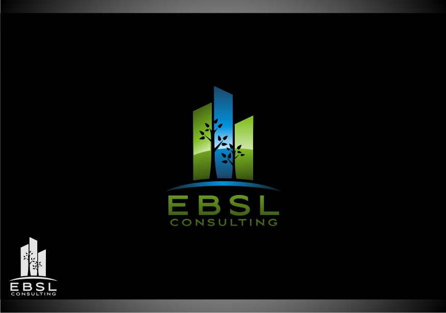 Logo Design by graphicleaf - Entry No. 22 in the Logo Design Contest EBSL Consulting Logo Design.