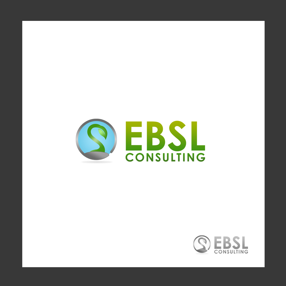 Logo Design by omARTist - Entry No. 25 in the Logo Design Contest EBSL Consulting Logo Design.