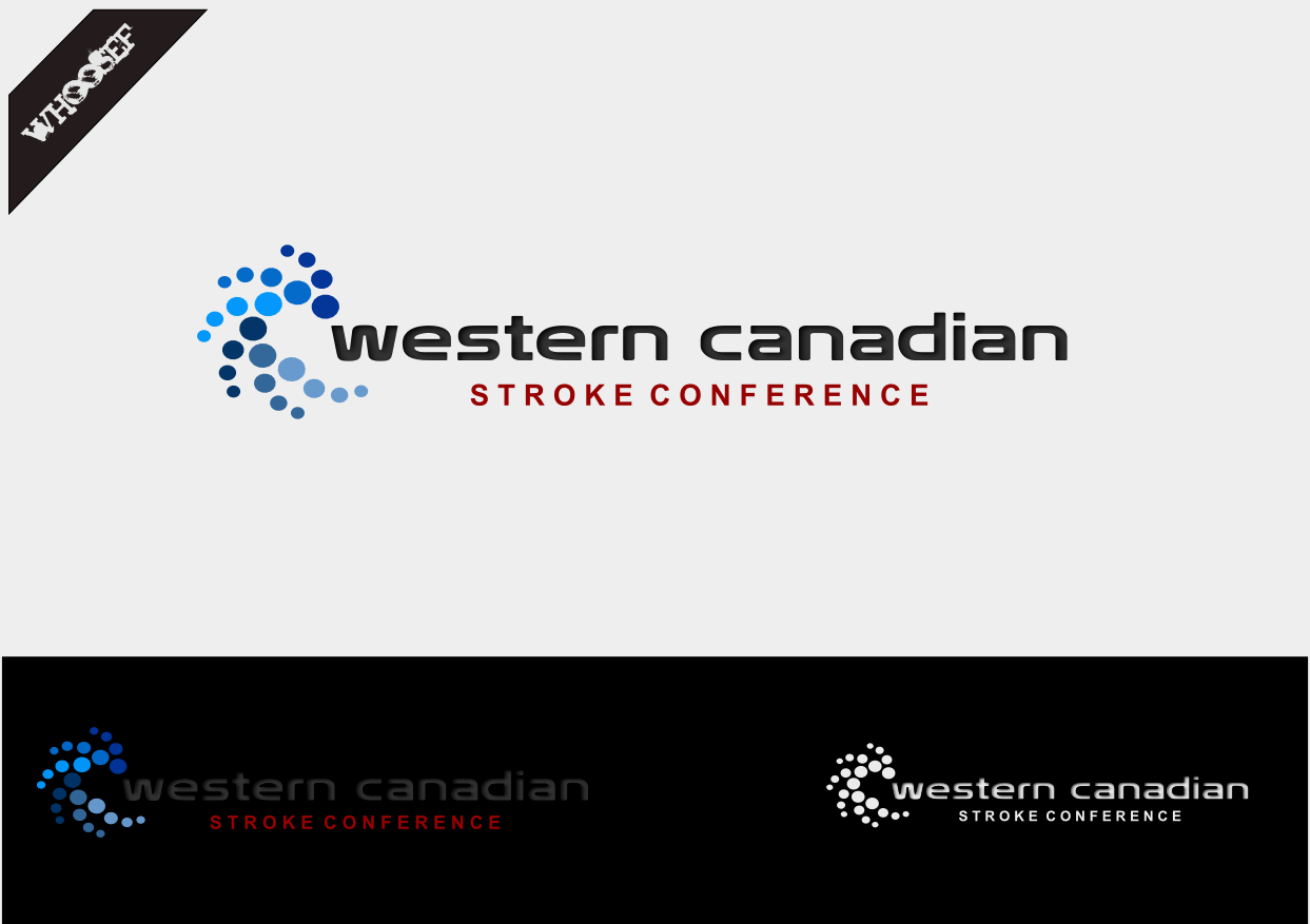Logo Design by whoosef - Entry No. 10 in the Logo Design Contest Artistic Logo Design for Western Canadian Stroke Conference.