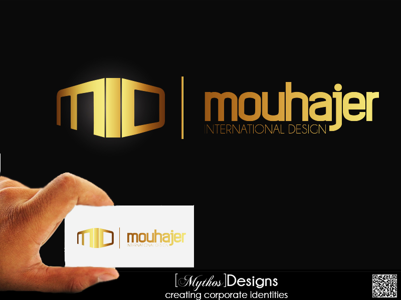Logo Design by Mythos Designs - Entry No. 31 in the Logo Design Contest Unique Logo Design Wanted for Mouhajer International Design.