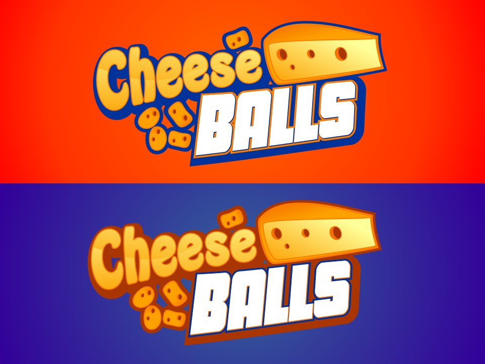 Logo Design by mr.pompi - Entry No. 34 in the Logo Design Contest Imaginative Logo Design for Cheese Balls.