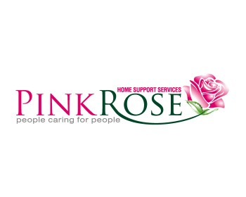 Logo Design by ysonmez - Entry No. 79 in the Logo Design Contest Pink Rose Home Support Services.