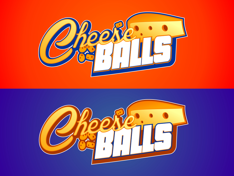 Logo Design by mr.pompi - Entry No. 35 in the Logo Design Contest Imaginative Logo Design for Cheese Balls.