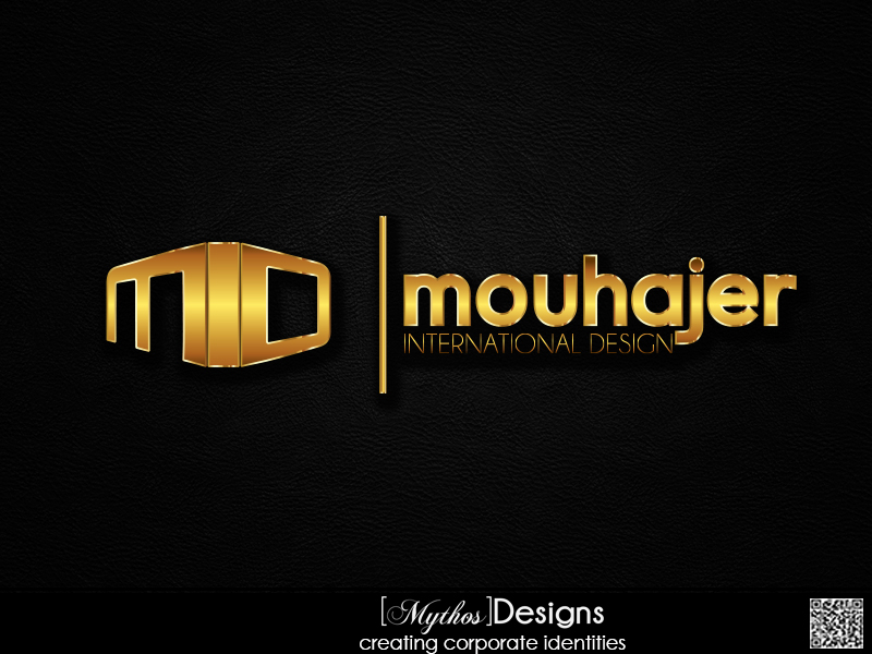 Logo Design by Mythos Designs - Entry No. 35 in the Logo Design Contest Unique Logo Design Wanted for Mouhajer International Design.