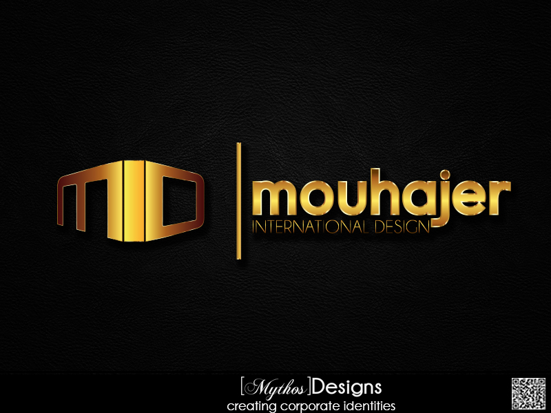 Logo Design by Mythos Designs - Entry No. 36 in the Logo Design Contest Unique Logo Design Wanted for Mouhajer International Design.