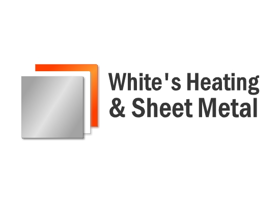 Logo Design by Ismail Adhi Wibowo - Entry No. 11 in the Logo Design Contest Imaginative Logo Design for White's Heating and Sheet Metal.