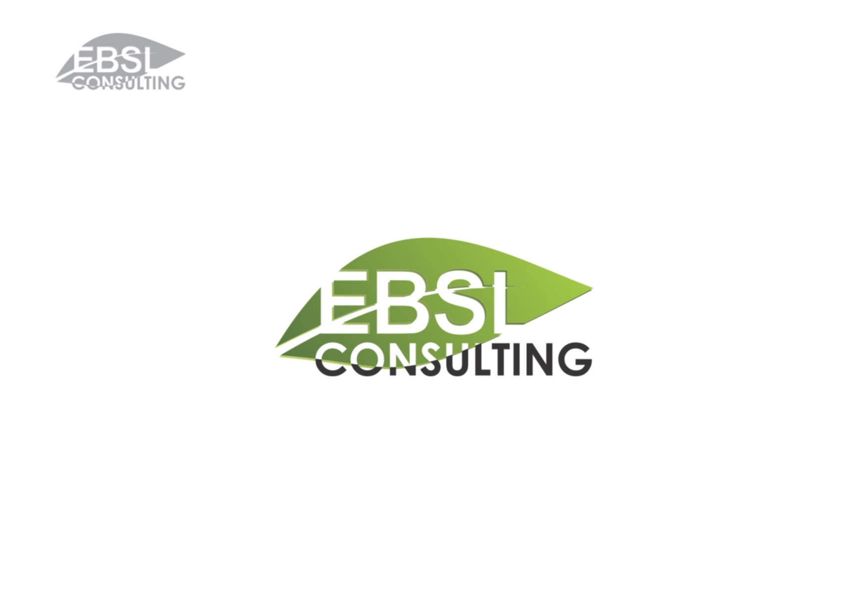 Logo Design by Private User - Entry No. 28 in the Logo Design Contest EBSL Consulting Logo Design.