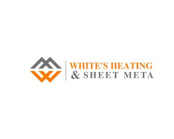 Logo Design by Parag Sohani - Entry No. 17 in the Logo Design Contest Imaginative Logo Design for White's Heating and Sheet Metal.