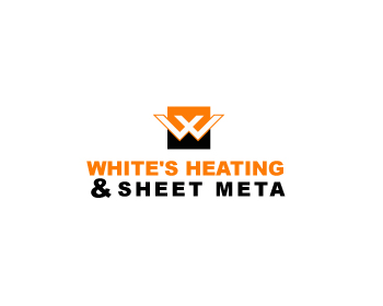 Logo Design by Parag Sohani - Entry No. 19 in the Logo Design Contest Imaginative Logo Design for White's Heating and Sheet Metal.