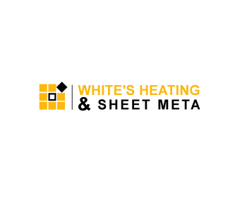 Logo Design by Parag Sohani - Entry No. 20 in the Logo Design Contest Imaginative Logo Design for White's Heating and Sheet Metal.