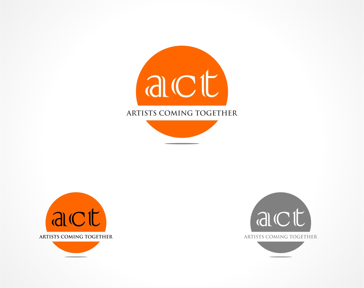 Logo Design by haidu - Entry No. 7 in the Logo Design Contest Creative Logo Design for A.C.T. Artists Coming Together.