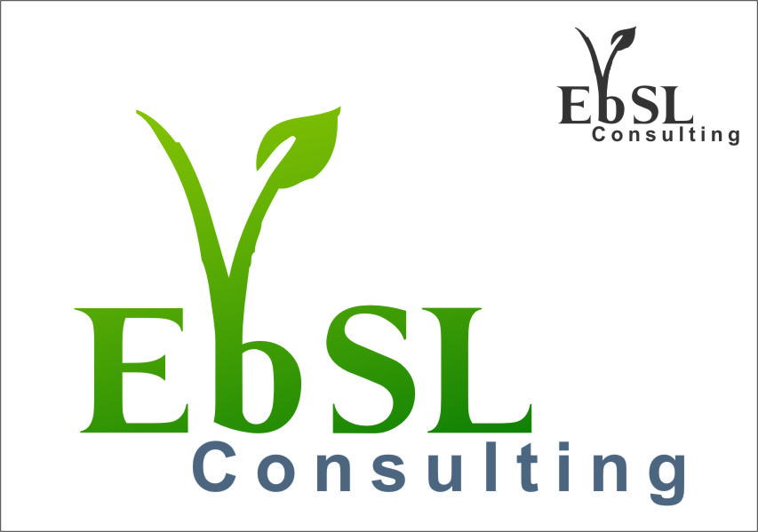 Logo Design by Ngepet_art - Entry No. 31 in the Logo Design Contest EBSL Consulting Logo Design.