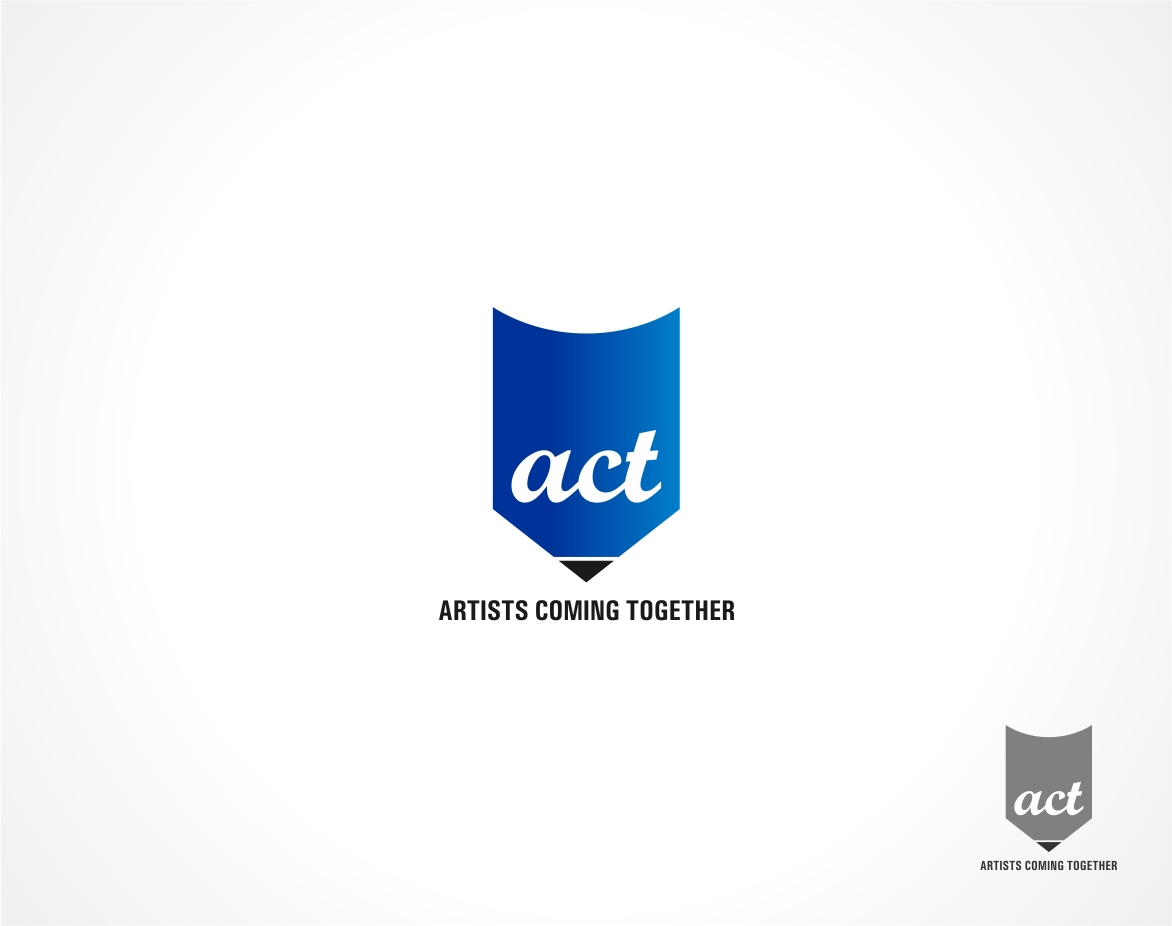 Logo Design by haidu - Entry No. 8 in the Logo Design Contest Creative Logo Design for A.C.T. Artists Coming Together.