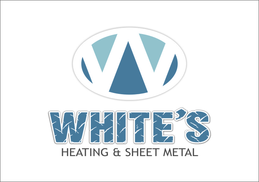 Logo Design by RasYa Muhammad Athaya - Entry No. 24 in the Logo Design Contest Imaginative Logo Design for White's Heating and Sheet Metal.