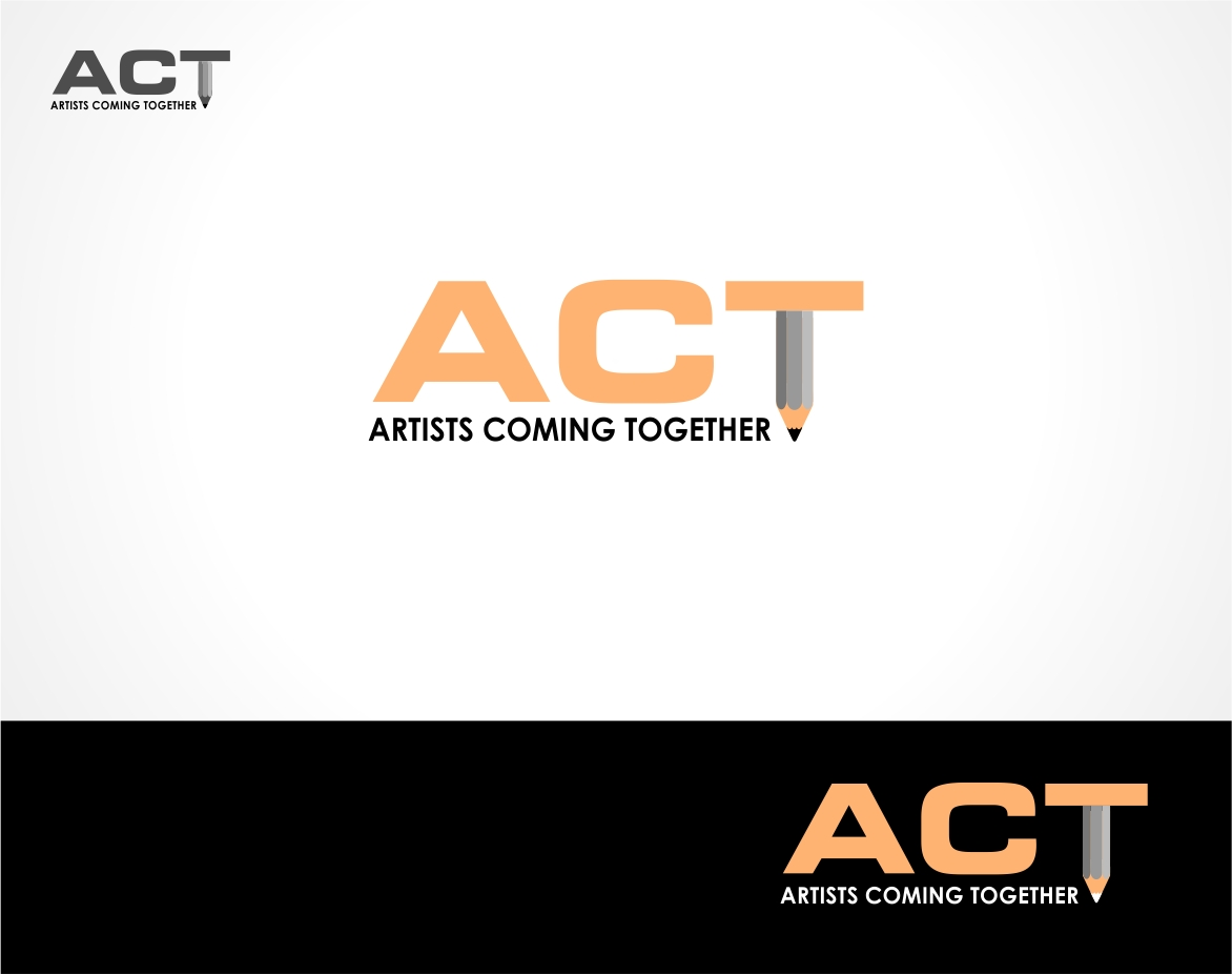 Logo Design by haidu - Entry No. 11 in the Logo Design Contest Creative Logo Design for A.C.T. Artists Coming Together.