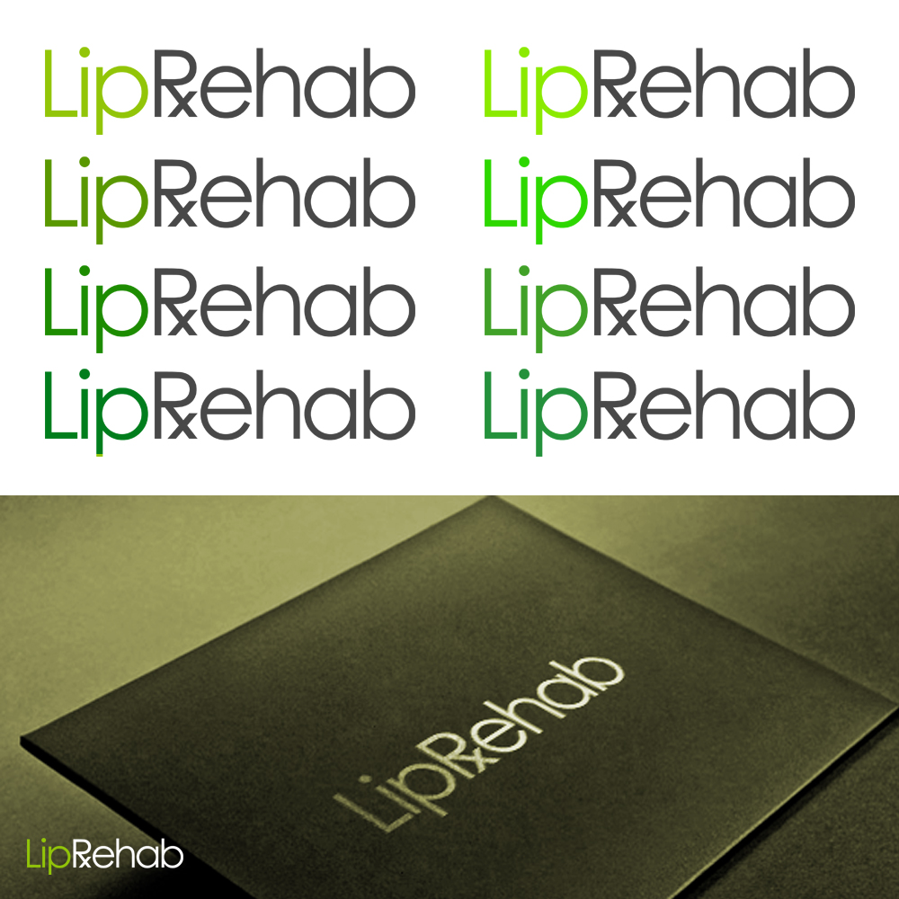 Logo Design by omARTist - Entry No. 132 in the Logo Design Contest Creative Logo Design for Lip Rehab.