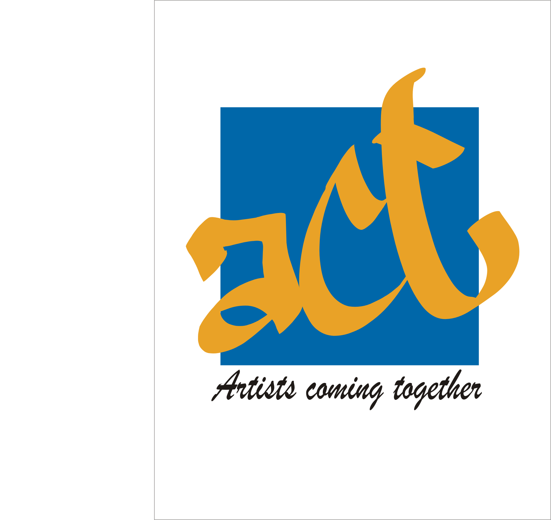 Logo Design by Aveeb Murdavein - Entry No. 12 in the Logo Design Contest Creative Logo Design for A.C.T. Artists Coming Together.
