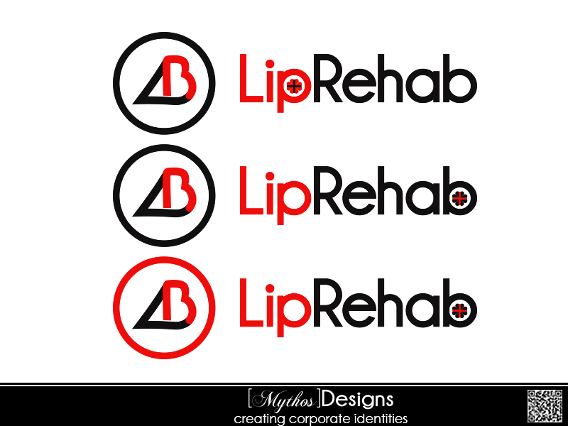 Logo Design by Mythos Designs - Entry No. 135 in the Logo Design Contest Creative Logo Design for Lip Rehab.