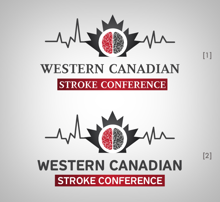 Logo Design by nausigeo - Entry No. 13 in the Logo Design Contest Artistic Logo Design for Western Canadian Stroke Conference.