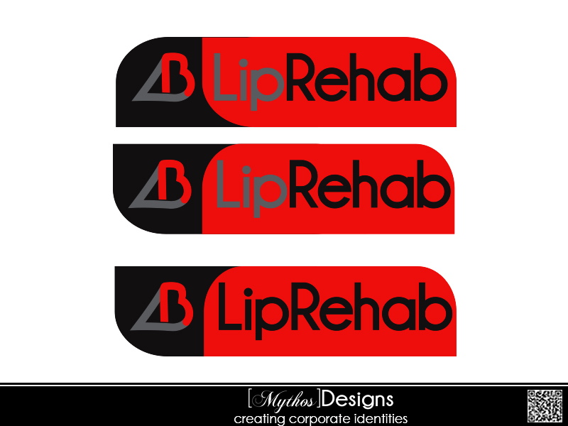 Logo Design by Mythos Designs - Entry No. 136 in the Logo Design Contest Creative Logo Design for Lip Rehab.