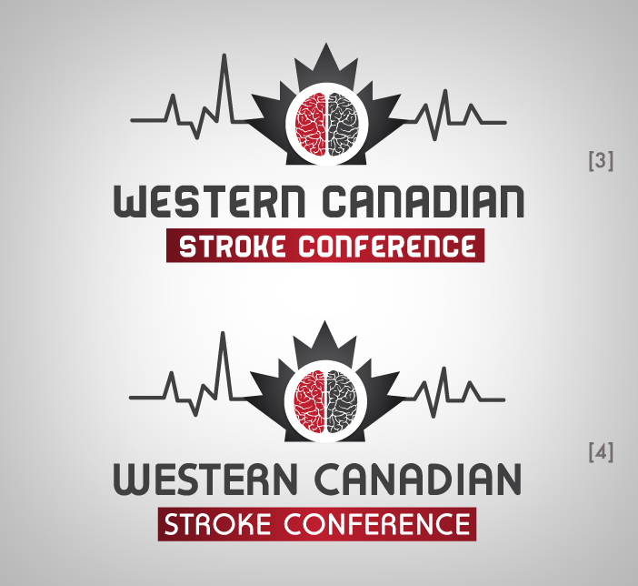 Logo Design by nausigeo - Entry No. 14 in the Logo Design Contest Artistic Logo Design for Western Canadian Stroke Conference.