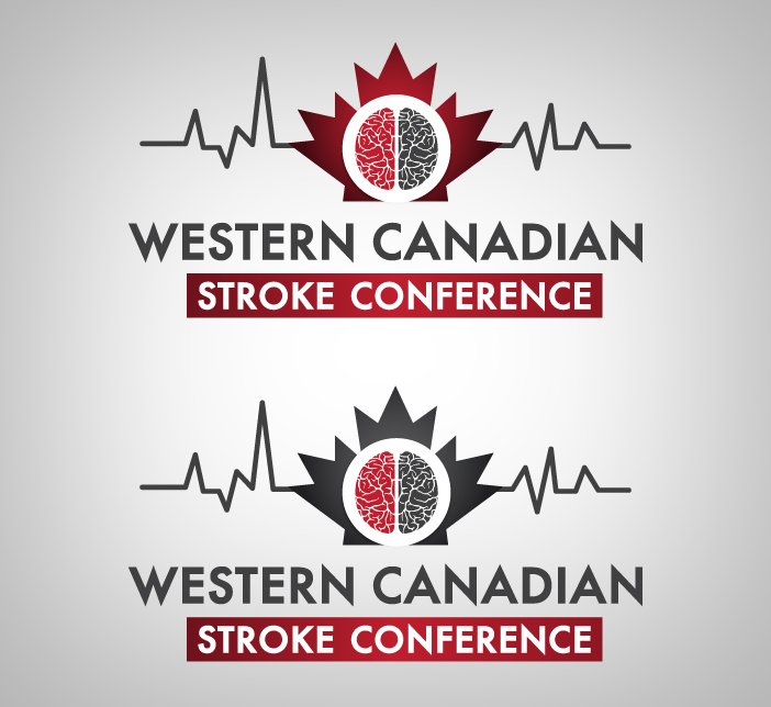 Logo Design by nausigeo - Entry No. 15 in the Logo Design Contest Artistic Logo Design for Western Canadian Stroke Conference.