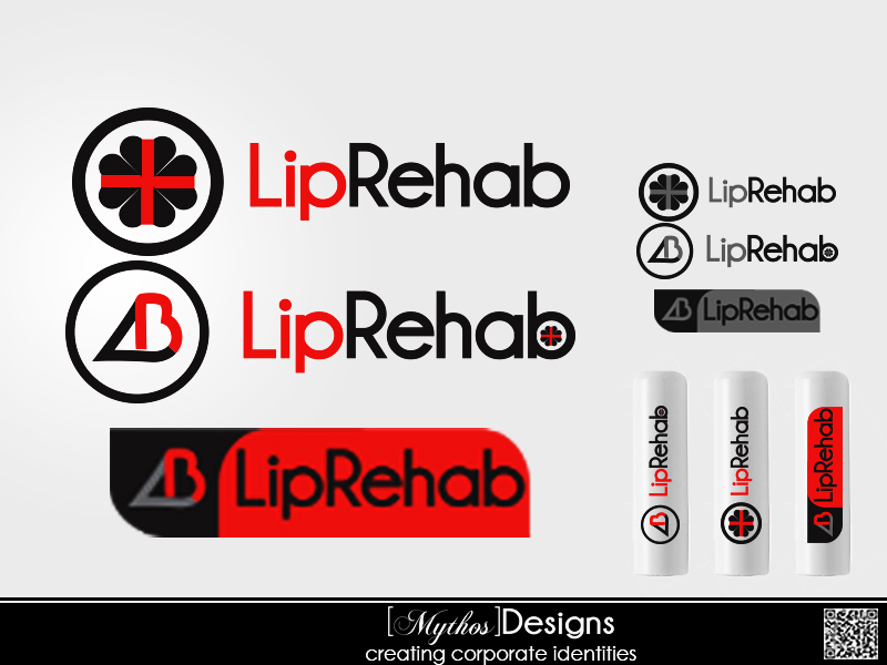 Logo Design by Mythos Designs - Entry No. 137 in the Logo Design Contest Creative Logo Design for Lip Rehab.