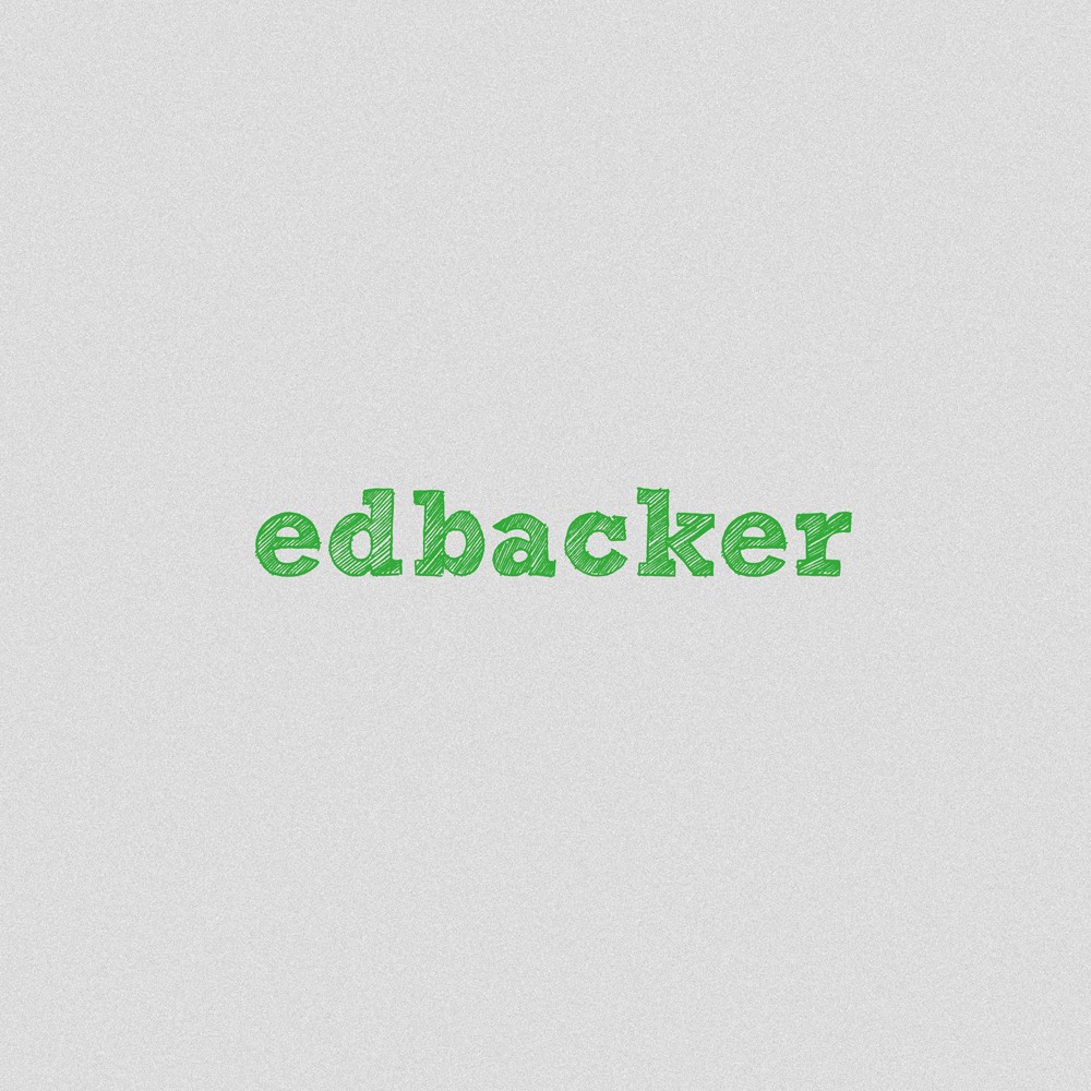Logo Design by Utkarsh Bhandari - Entry No. 185 in the Logo Design Contest New Logo Design for edbacker.