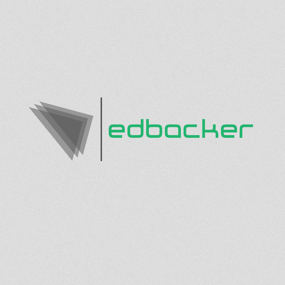 Logo Design by Utkarsh Bhandari - Entry No. 188 in the Logo Design Contest New Logo Design for edbacker.