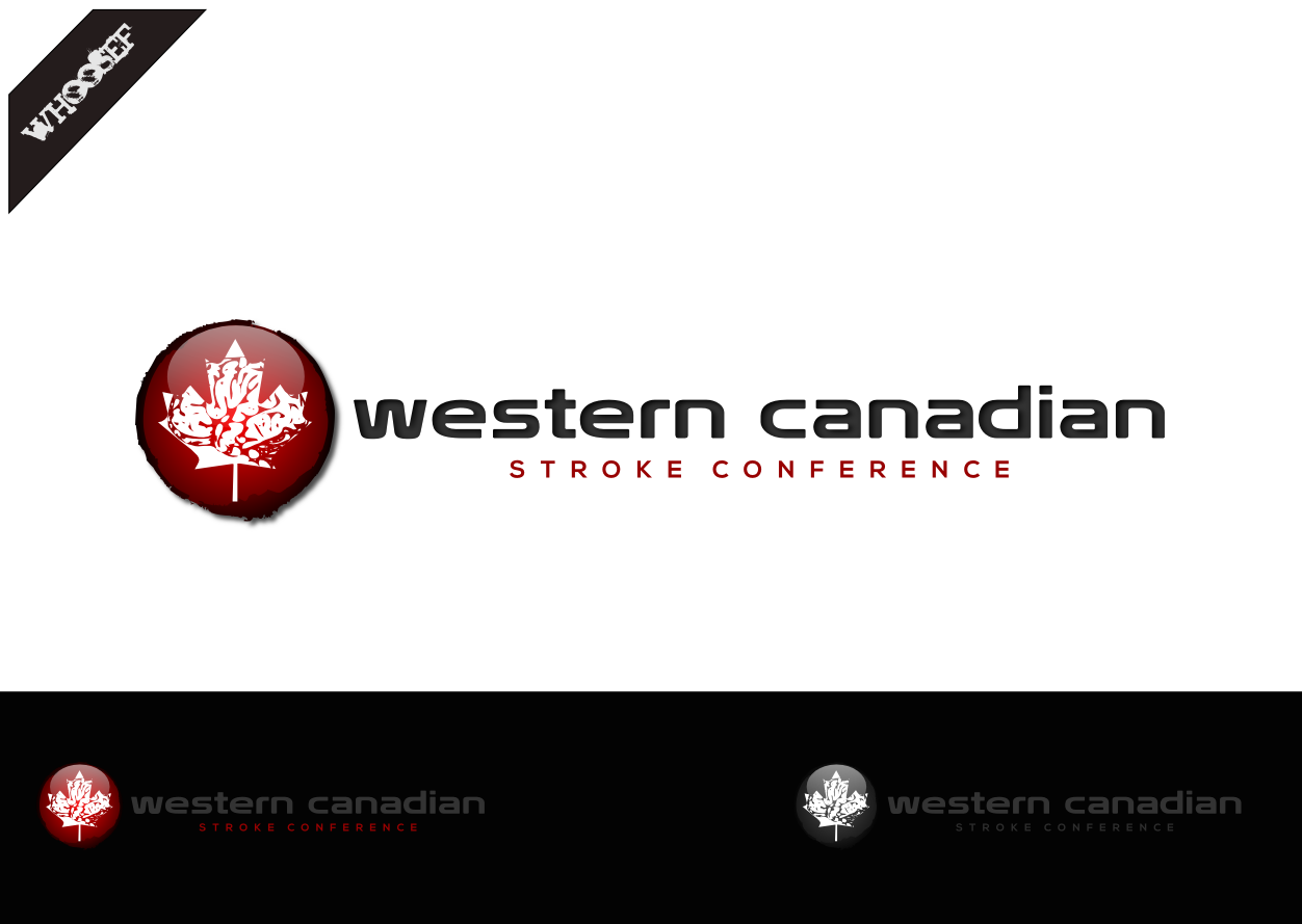 Logo Design by whoosef - Entry No. 16 in the Logo Design Contest Artistic Logo Design for Western Canadian Stroke Conference.