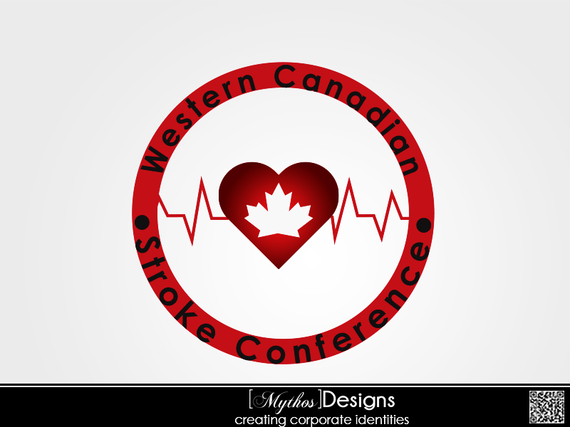 Logo Design by Mythos Designs - Entry No. 17 in the Logo Design Contest Artistic Logo Design for Western Canadian Stroke Conference.