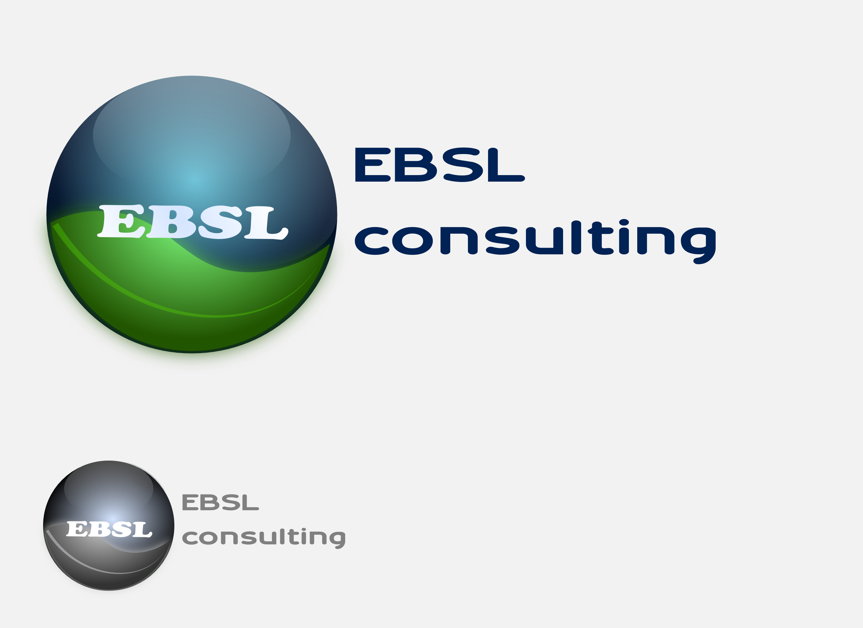 Logo Design by Arindam Khanda - Entry No. 44 in the Logo Design Contest EBSL Consulting Logo Design.