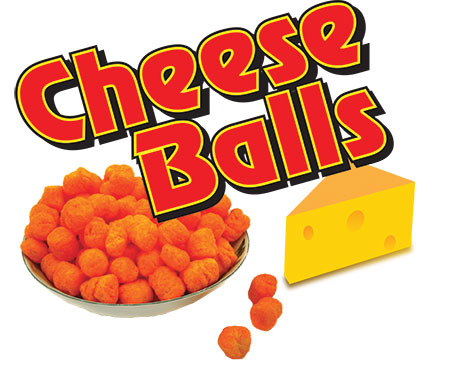Logo Design by Mohamed Sheikh - Entry No. 36 in the Logo Design Contest Imaginative Logo Design for Cheese Balls.