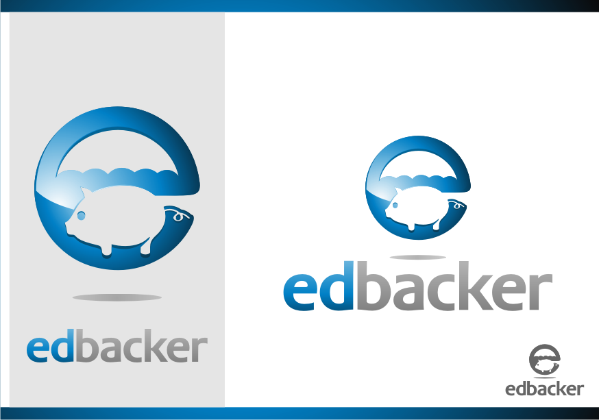 Logo Design by graphicleaf - Entry No. 194 in the Logo Design Contest New Logo Design for edbacker.