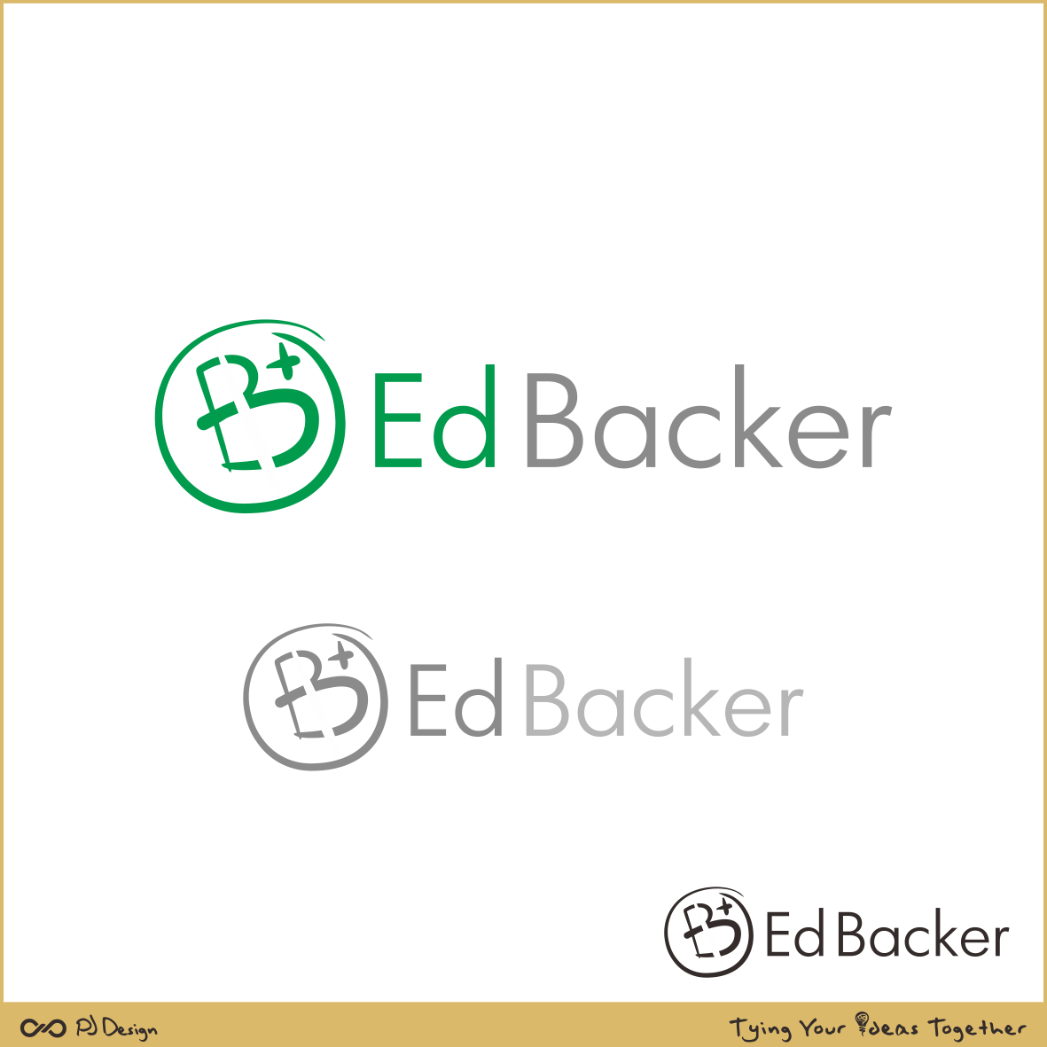 Logo Design by PJD - Entry No. 195 in the Logo Design Contest New Logo Design for edbacker.
