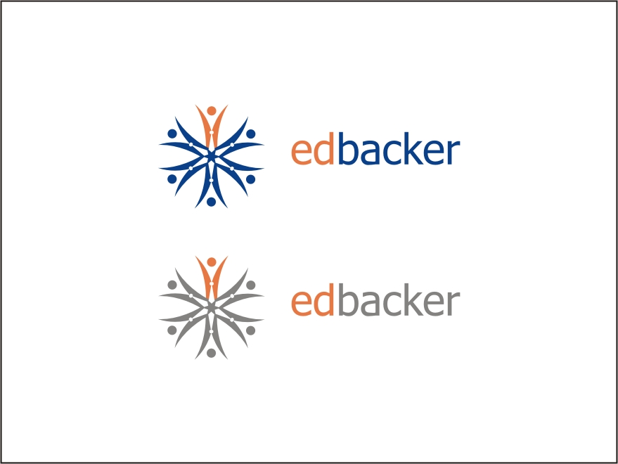 Logo Design by RED HORSE design studio - Entry No. 198 in the Logo Design Contest New Logo Design for edbacker.