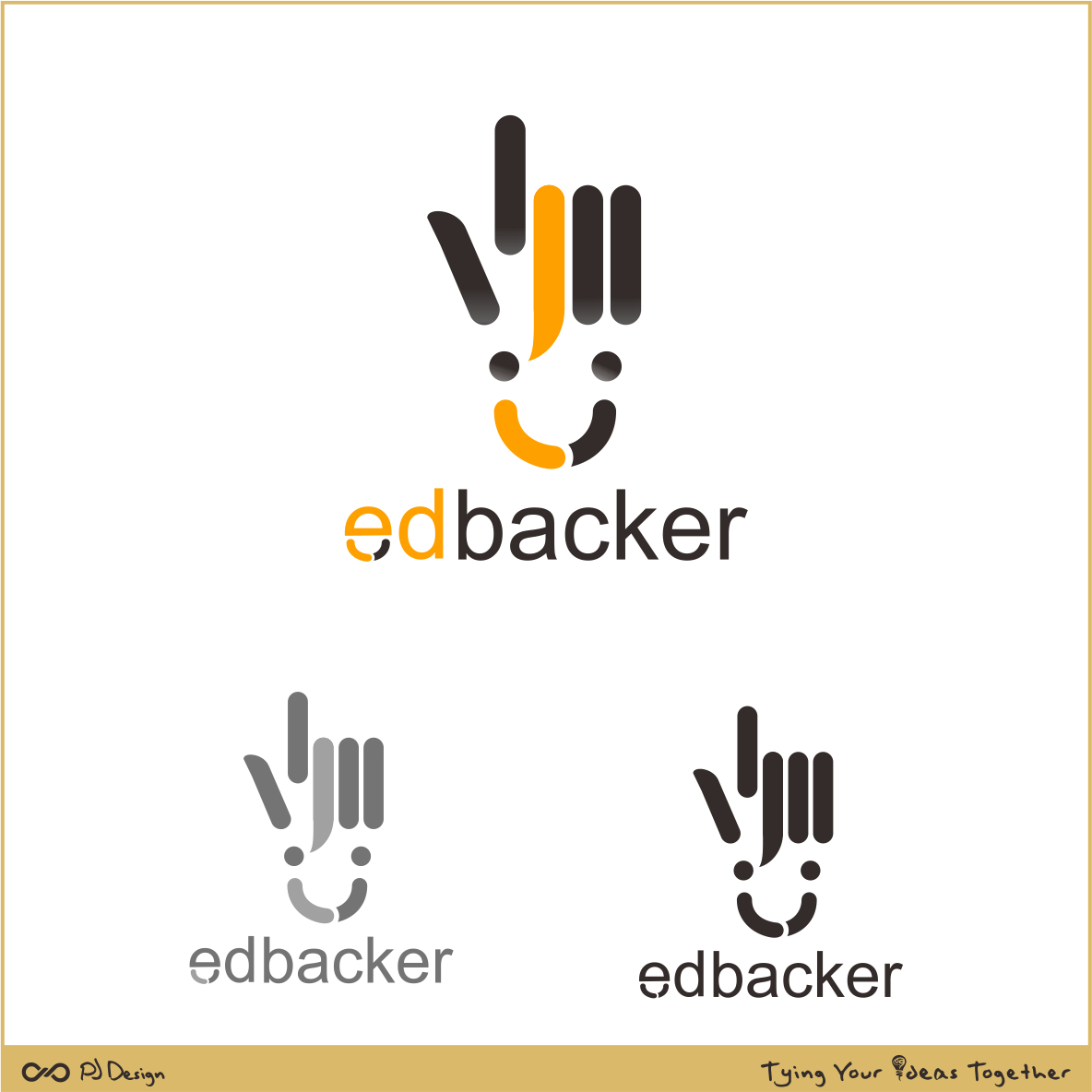 Logo Design by PJD - Entry No. 199 in the Logo Design Contest New Logo Design for edbacker.