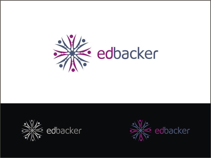 Logo Design by RED HORSE design studio - Entry No. 201 in the Logo Design Contest New Logo Design for edbacker.