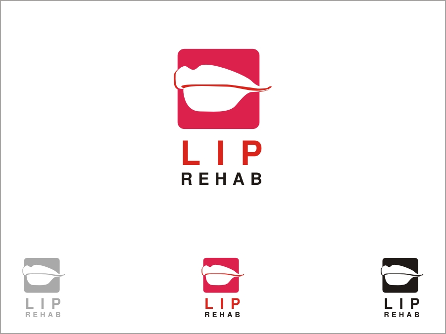 Logo Design by RED HORSE design studio - Entry No. 148 in the Logo Design Contest Creative Logo Design for Lip Rehab.