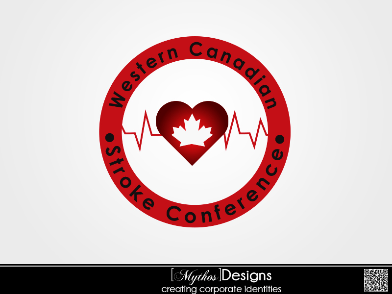 Logo Design by Mythos Designs - Entry No. 18 in the Logo Design Contest Artistic Logo Design for Western Canadian Stroke Conference.