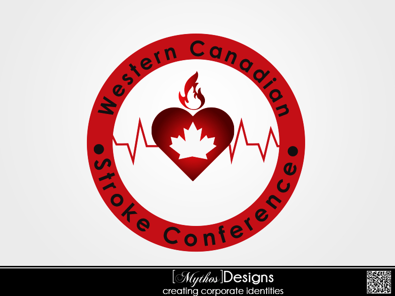 Logo Design by Mythos Designs - Entry No. 20 in the Logo Design Contest Artistic Logo Design for Western Canadian Stroke Conference.
