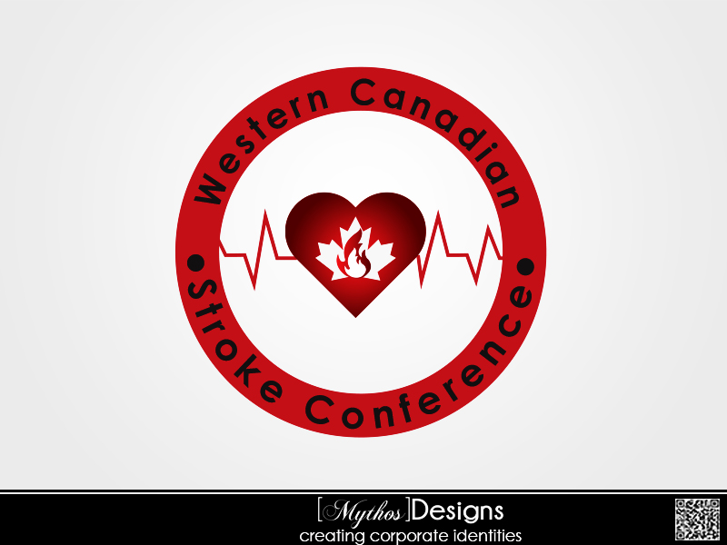 Logo Design by Mythos Designs - Entry No. 21 in the Logo Design Contest Artistic Logo Design for Western Canadian Stroke Conference.