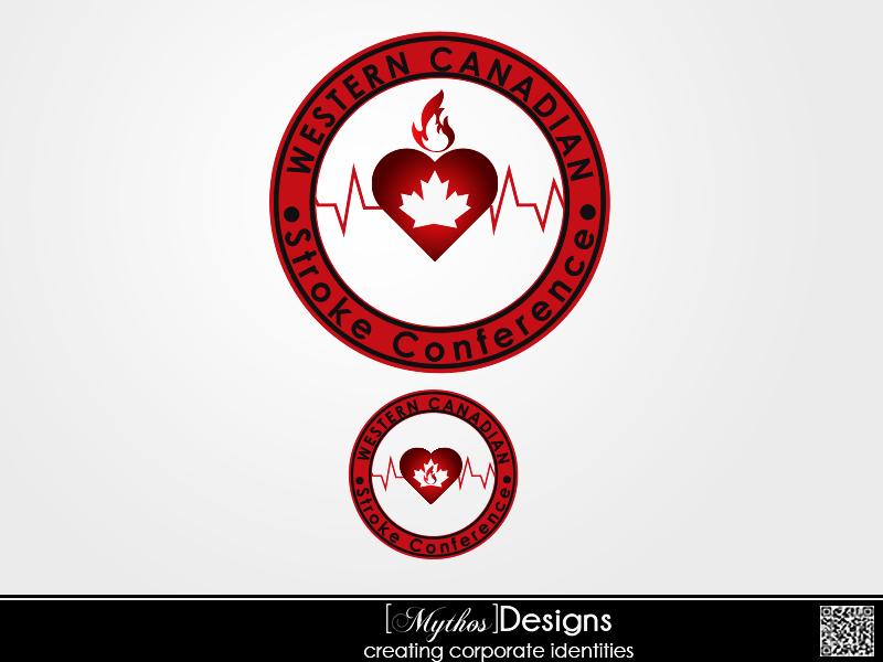 Logo Design by Mythos Designs - Entry No. 22 in the Logo Design Contest Artistic Logo Design for Western Canadian Stroke Conference.