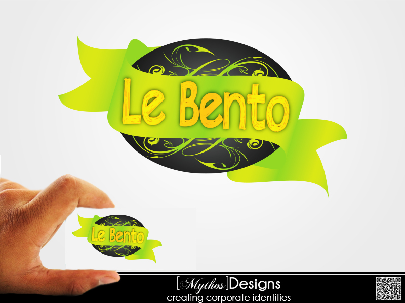 Logo Design by Mythos Designs - Entry No. 19 in the Logo Design Contest Captivating Logo Design for Le Bento.
